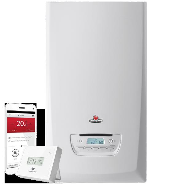 Saunier duval caldera themafast condens 25 termostato wifi - Caldera mixta gas ...